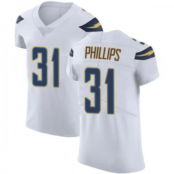 Elite Adrian Phillips Men's Los Angeles Chargers White Vapor Untouchable Jersey - Nike