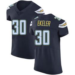 Elite Austin Ekeler Men's Los Angeles Chargers Navy Blue Team Color Vapor Untouchable Jersey - Nike
