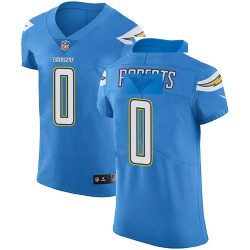 Elite Austin Roberts Men's Los Angeles Chargers Blue Alternate Vapor Untouchable Jersey - Nike