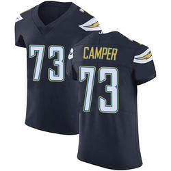 Elite Blake Camper Men's Los Angeles Chargers Navy Blue Team Color Vapor Untouchable Jersey - Nike