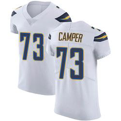 Elite Blake Camper Men's Los Angeles Chargers White Vapor Untouchable Jersey - Nike