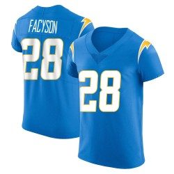 Elite Brandon Facyson Men's Los Angeles Chargers Blue Alternate Vapor Untouchable Jersey - Nike