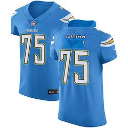Elite Brant Weiss Men's Los Angeles Chargers Blue Alternate Vapor Untouchable Jersey - Nike