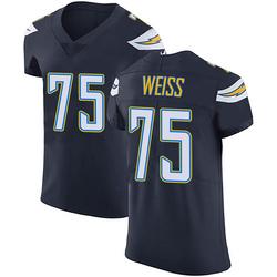 Elite Brant Weiss Men's Los Angeles Chargers Navy Blue Team Color Vapor Untouchable Jersey - Nike