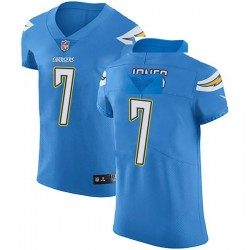 Elite Cardale Jones Men's Los Angeles Chargers Blue Alternate Vapor Untouchable Jersey - Nike