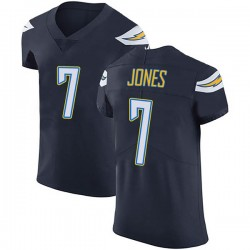 Elite Cardale Jones Men's Los Angeles Chargers Navy Blue Team Color Vapor Untouchable Jersey - Nike