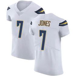 Elite Cardale Jones Men's Los Angeles Chargers White Vapor Untouchable Jersey - Nike