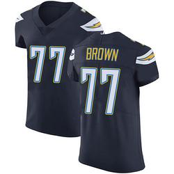 Elite Chris Brown Men's Los Angeles Chargers Navy Blue Team Color Vapor Untouchable Jersey - Nike