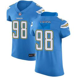 Elite Dee Liner Men's Los Angeles Chargers Blue Alternate Vapor Untouchable Jersey - Nike