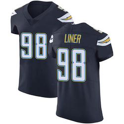 Elite Dee Liner Men's Los Angeles Chargers Navy Blue Team Color Vapor Untouchable Jersey - Nike