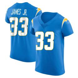 Elite Derwin James Men's Los Angeles Chargers Blue Alternate Vapor Untouchable Jersey - Nike