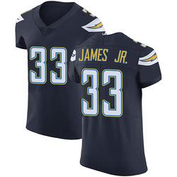 Elite Derwin James Men's Los Angeles Chargers Navy Blue Team Color Vapor Untouchable Jersey - Nike