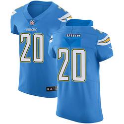 Elite Desmond King Men's Los Angeles Chargers Blue Alternate Vapor Untouchable Jersey - Nike
