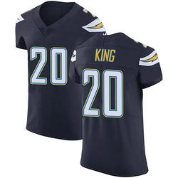 Elite Desmond King Men's Los Angeles Chargers Navy Blue Team Color Vapor Untouchable Jersey - Nike