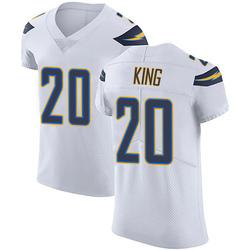 Elite Desmond King Men's Los Angeles Chargers White Vapor Untouchable Jersey - Nike