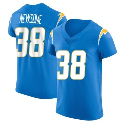 Elite Detrez Newsome Men's Los Angeles Chargers Blue Alternate Vapor Untouchable Jersey - Nike