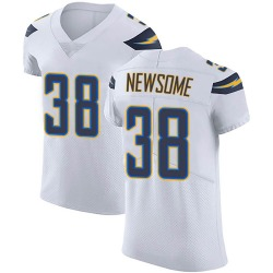 Elite Detrez Newsome Men's Los Angeles Chargers White Vapor Untouchable Jersey - Nike