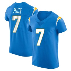 Elite Doug Flutie Men's Los Angeles Chargers Blue Alternate Vapor Untouchable Jersey - Nike