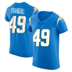 Elite Drue Tranquill Men's Los Angeles Chargers Blue Alternate Vapor Untouchable Jersey - Nike