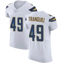 Elite Drue Tranquill Men's Los Angeles Chargers White Vapor Untouchable Jersey - Nike