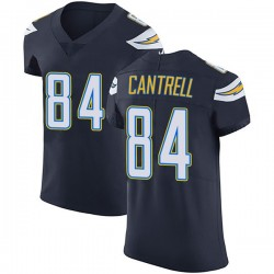 Elite Dylan Cantrell Men's Los Angeles Chargers Navy Blue Team Color Vapor Untouchable Jersey - Nike