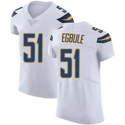 Elite Emeke Egbule Men's Los Angeles Chargers White Vapor Untouchable Jersey - Nike