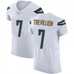 Elite Fred Trevillion Men's Los Angeles Chargers White Vapor Untouchable Jersey - Nike