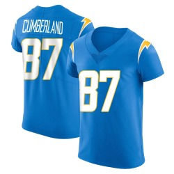 Elite Jeff Cumberland Men's Los Angeles Chargers Blue Alternate Vapor Untouchable Jersey - Nike