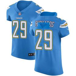 Elite Jeff Richards Men's Los Angeles Chargers Blue Alternate Vapor Untouchable Jersey - Nike
