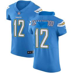 Elite Jordan Smallwood Men's Los Angeles Chargers Blue Alternate Vapor Untouchable Jersey - Nike
