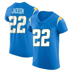 Elite Justin Jackson Men's Los Angeles Chargers Blue Alternate Vapor Untouchable Jersey - Nike
