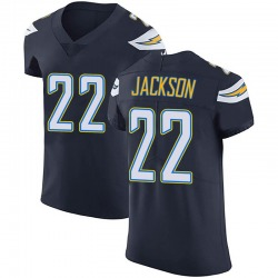 Elite Justin Jackson Men's Los Angeles Chargers Navy Blue Team Color Vapor Untouchable Jersey - Nike
