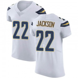 Elite Justin Jackson Men's Los Angeles Chargers White Vapor Untouchable Jersey - Nike