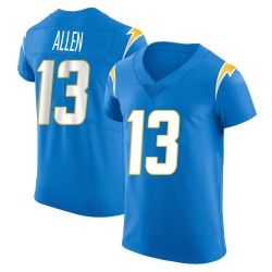Elite Keenan Allen Men's Los Angeles Chargers Blue Alternate Vapor Untouchable Jersey