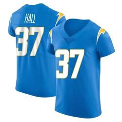 Elite Kemon Hall Men's Los Angeles Chargers Blue Alternate Vapor Untouchable Jersey - Nike