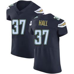 Elite Kemon Hall Men's Los Angeles Chargers Navy Blue Team Color Vapor Untouchable Jersey - Nike