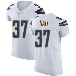 Elite Kemon Hall Men's Los Angeles Chargers White Vapor Untouchable Jersey - Nike