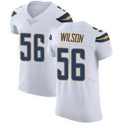 Elite Kyle Wilson Men's Los Angeles Chargers White Vapor Untouchable Jersey - Nike