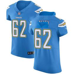 Elite Larry Allen Men's Los Angeles Chargers Blue Alternate Vapor Untouchable Jersey - Nike