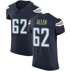 Elite Larry Allen Men's Los Angeles Chargers Navy Blue Team Color Vapor Untouchable Jersey - Nike