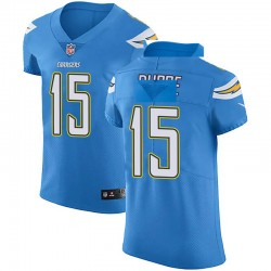 Elite Malachi Dupre Men's Los Angeles Chargers Blue Alternate Vapor Untouchable Jersey - Nike