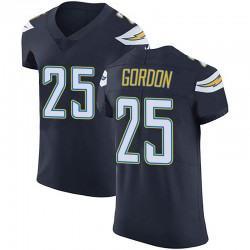 Elite Melvin Gordon Men's Los Angeles Chargers Navy Blue Team Color Vapor Untouchable Jersey - Nike