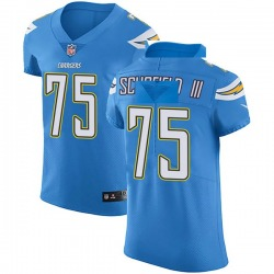 Elite Michael Schofield III Men's Los Angeles Chargers Blue Alternate Vapor Untouchable Jersey - Nike