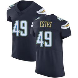 Elite Mike Estes Men's Los Angeles Chargers Navy Blue Team Color Vapor Untouchable Jersey - Nike