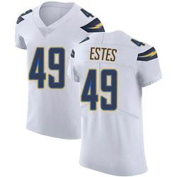 Elite Mike Estes Men's Los Angeles Chargers White Vapor Untouchable Jersey - Nike