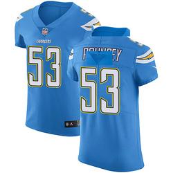 Elite Mike Pouncey Men's Los Angeles Chargers Blue Alternate Vapor Untouchable Jersey - Nike