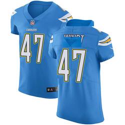 Elite Mike Windt Men's Los Angeles Chargers Blue Alternate Vapor Untouchable Jersey - Nike