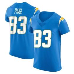 Elite Mitchell Paige Men's Los Angeles Chargers Blue Alternate Vapor Untouchable Jersey - Nike