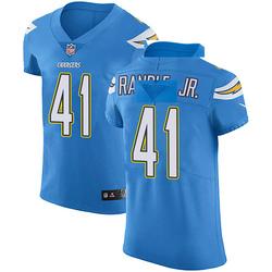 Elite Rodney Randle Jr. Men's Los Angeles Chargers Blue Alternate Vapor Untouchable Jersey - Nike