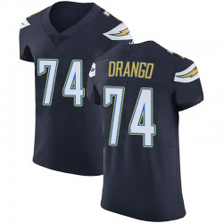 Elite Spencer Drango Men's Los Angeles Chargers Navy Blue Team Color Vapor Untouchable Jersey - Nike
